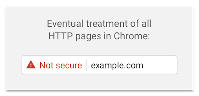 Google Chrome Security Warning