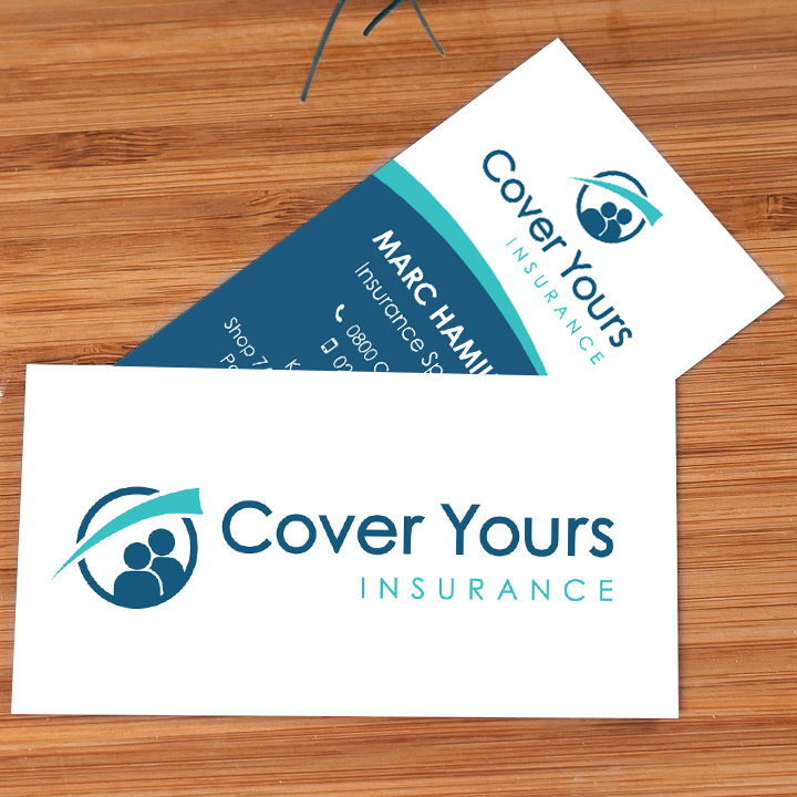 business cards and logo design